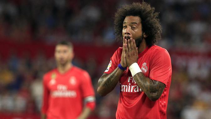 Marcelo mulai sering diganggu cedera. (AP/Miguel Morenatti)