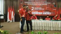 PDIP memerintahkan kader memenangkan pasangan TB Hasanuddin- Anton Charliyan di Pilkada Jabar (foto: dok PDIP)