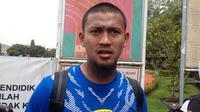 Kiper Persib, Muhammad Natshir Fadhil Mahbuby, berharap kariernya semakin bersinar di usia ke-26 tahun (Bola.com/Erwin Snaz)