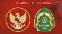 Uji Coba - Timnas Indonesia Vs Tira Persikabo (Bola.com/Adreanus Titus)