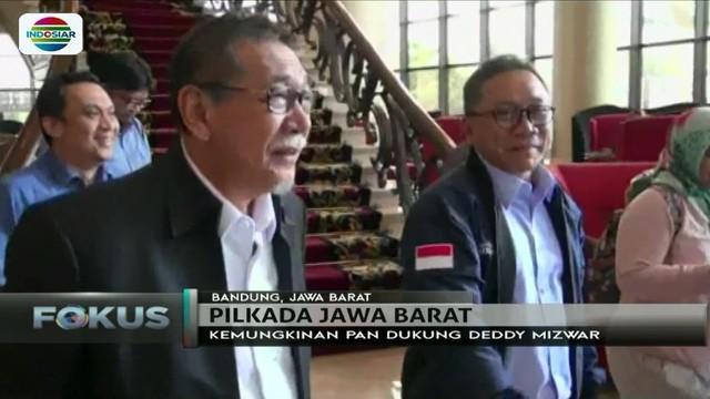 Temui Zulkifli Hasan, Deddy Mizwar dapat dukungan dari PAN untuk melenggang di Pilgub Jawa Barat?