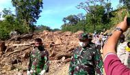 Bencana tanah longsor di Tapanuli Selatan (Istimewa)