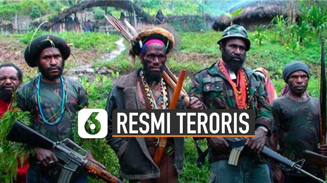 Kelompok Kriminal Bersenjata (KKB) di Papua ditetapkan sebagai teroris.