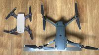 Perbandingan drone DJI Spark dengan DJI Mavic Pro (sumber: techcrunch.com)