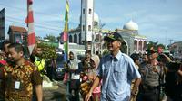 Gubernur Jateng Pantau Pilkada 2017 di Brebes