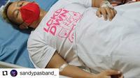 Sandy Andarusman alias Sandy Pas Band (Instagram @sandypasband_ via Facebook Pas Band)