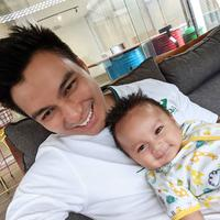 Baim Wong bersama Kiano (Instagram/baimwong)