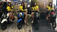 Yamaha X-Ride 125 sudah tersedia di dealer-dealer resmi Yamaha. (Septian/Lipuatn6.com)