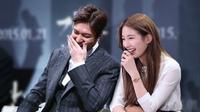 Lee Min Ho dan Suzy dikabarkan putus. Personel Miss A itu membantahnya dengan keras.