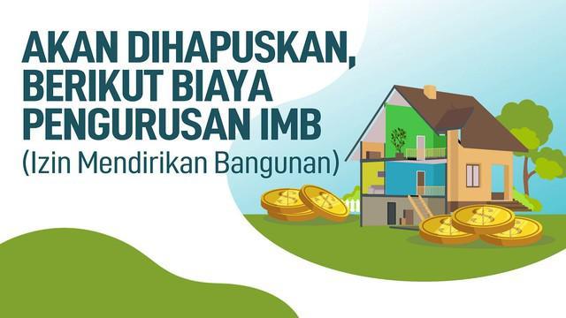 IMB akan dihapuskan karena proses pengurusan butuh waktu lama. Dianggap menghambat investasi yang akan masuk.