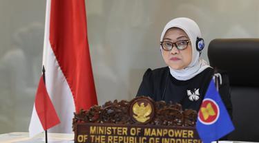 Menaker Ida Fauziyah. Dok Kementerian Ketenagakerjaan