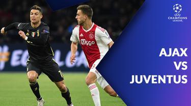 Berita video statistik Ajax vs Juventus pada leg pertama Liga Champions 2018-2019, Kamis (11/4/2019) dini hari WIB.