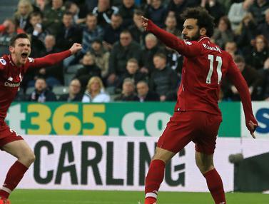 FOTO: Raih Kemenangan, Liverpool Kuasai Klasemen Liga Inggris