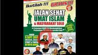 Polresta Solo Larang Jalan Sehat Umat Islam. (Solopos.com)