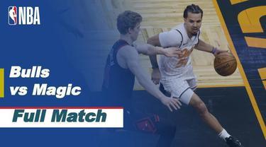 Berita video pertandingan NBA Regular Season 2020/21, antara Chicago Bulls vs Orlando Magic yang berlangsung pada hari Minggu (07/2) di Arena Amway Center.