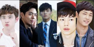 Namun bukan hanya Lee Min Ho, banyak sekali aktor Korea yang bikin banyak cewek susah napas karena terlalu excited dan nervous.