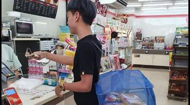 Ragam Tempat Belanja Pengganti Kantong Plastik di Thailand