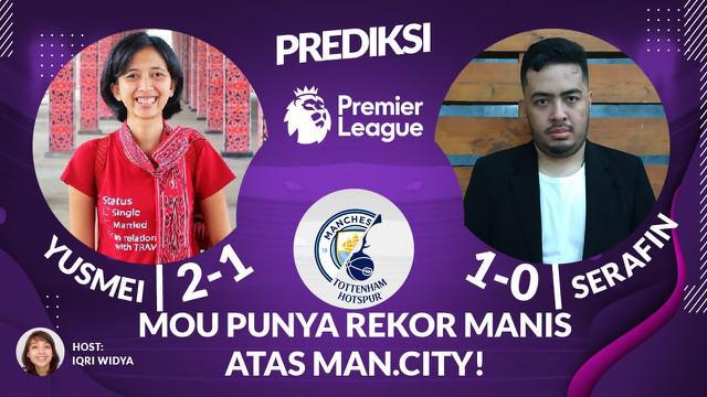 Berita Video Prediksi Liga Inggris, Menanti Sihir Jose Mourinho di Laga Tottenham Hotspur Vs Manchester City