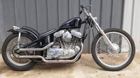 Harley-Davidson Sportster 1995 dikustom jadi Chopper. (Gilang / Liputan6.com)