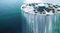 Desain Menara Sky Island di Shenzhen, China. (dok. Instagram @sou_fujimoto/https://www.instagram.com/p/CQac0mQpCM3/)