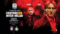 Crotone vs Inter Milan (Liputan6.com/Abdillah)
