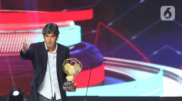 Enam Belas Penghargaan Diberikan Pada Indonesian Soccer Award 2019