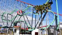 Roller coaster Arashi di Jepang (Foto: coasterfriends)