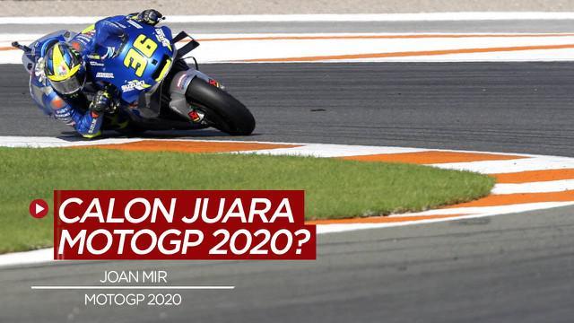 Berita video, keyakinan Valentino Rossi atas gelar juara dunia MotoGP 2020 untuk Joan Mir