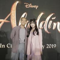 Nyanyikan lagu Disney, Isyana Sarasvati berkolaborasi dengan Gamaliel Tapiheru. (M Akrom Sukarya/KapanLagi.com)