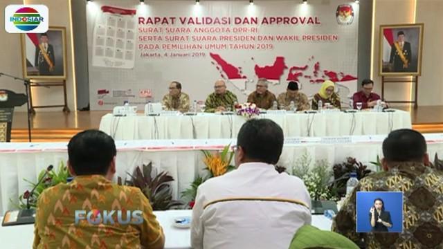 Untuk keamanan, KPU telah berkoordinasi dengan TNI, Polri, dan Paspamres. KPU juga menyiapkan nonton bareng bagi pendukung paslon.