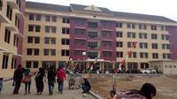Rusun Margawati bagi korban banjir bandang Garut (Liputan6.com/Jayadi Supriadin)