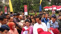 Presiden Jokowi di Yogyakarta (Liputan6.com/ Switzy Sabandar)
