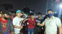 Polsek Tambora mengagalkan dua kelompok remaja yang hendak tawuran. (dok Polsek Tambora)
