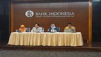 Konferensi pers Bank Indonesia pada Jumat (10/8/2018) (Foto: Merdeka.com/Dwi Aditya Putra)