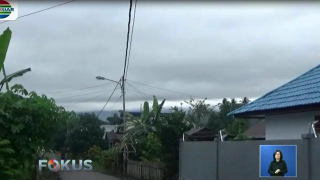 Menurut petugas, aktivitas Gunung Soputan hari ini telah menurun setelah erupsi terjadi pada hari Minggu (16/12).