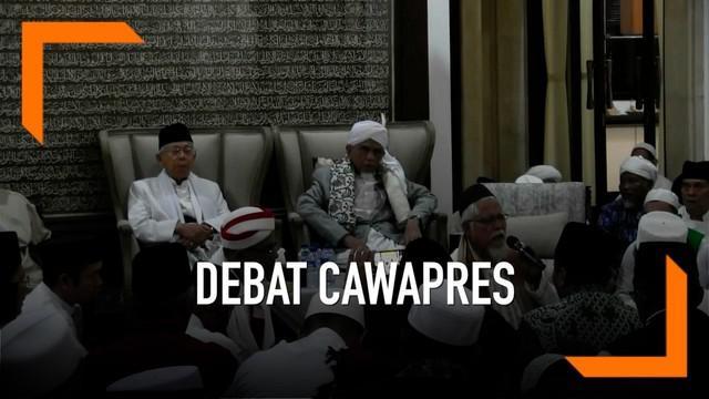 Hari Minggu (17/3) malam akan digelar debat cawapres RI, apa yang dipersiapkan cawapres Ma'ruf Amin?