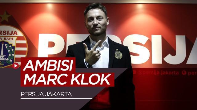 Berita video ambisi Marc Klok yang ingin membawa Persija Jakarta juara musim 2020 pada saat konferensi pers, Sabtu (1/2/2020).