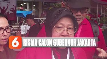 Risma merasa pujian dari Ketua Umum PDI Perjuangan bukan sinyal untuk jabatan baru setelah nanti tak menjabat sebagai wali kota Surabaya.