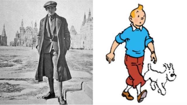 Siapa yang menjadi inspirasi Tintin? (0)