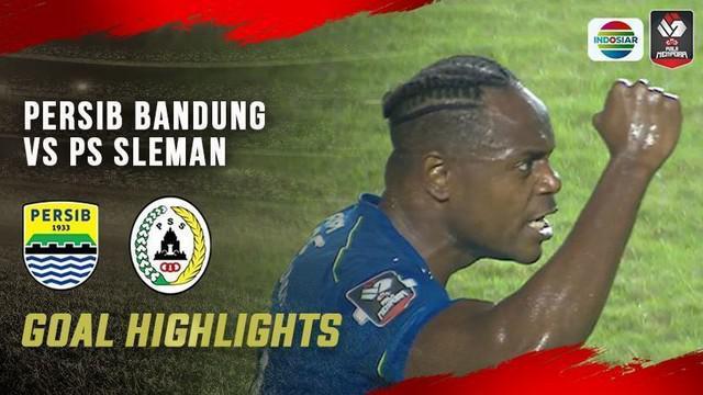 Berita video gol-gol yang tercipta pada laga leg 1 semifinal Piala Menpora 2021 antara Persib Bandung melawan PSS, Jumat (16/4/2021) malam hari WIB.