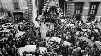 Jasad mantan PM Italia Aldo Moro ditemukan pada 9 mei 1978 di Roma (AFP)