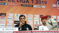 Caretaker pelatih Semen Padang FC Weliansyah memuji penampilan anak asuhnya melawan Persib Bandung. (Liputan6.com/Huyogo Simbolon)