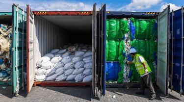 Malaysia Kembalikan Limbah Plastik ke Negara Asal