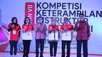Pembukaan Kompetisi Keterampilan Instruktur Nasional (KKIN) VII Regional Sulawesi Selatan di Makassar.