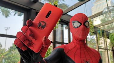 Realme X Edisi Spider-Man