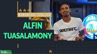 Wawancara Eksklusif Alfin Tuasalamony. (Bola.com/Dody Iryawan)