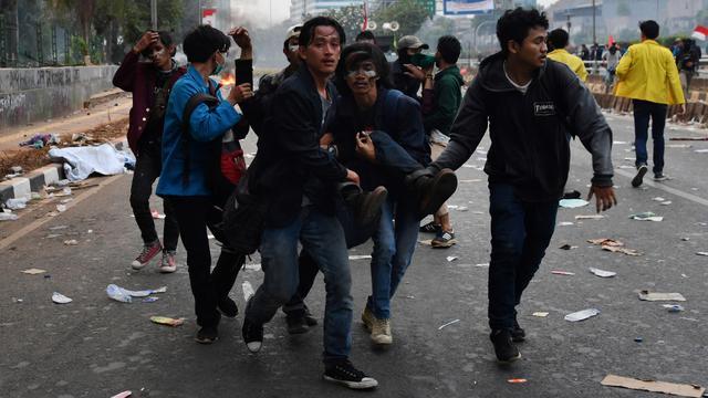 Sejumlah Kampus Di Surabaya Izinkan Mahasiswanya Demo