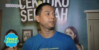 Ernest Prakasa bangga karena film Cek Toko Sebelah ditonton oleh Presiden Jokowi.