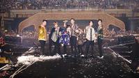 Boyband asal Korea Selatan, Super Junior, kabarnya bakal menjadi salah satu pengisi acara di upacara penutupan Asian Games 2018 pada 2 September 2018 (Instagram/@superjunior)
