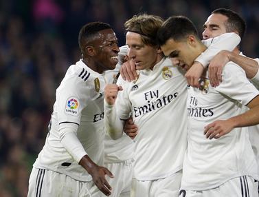 Real Madrid Akhiri Puasa Kemenangan